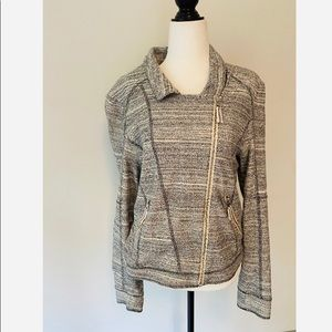 Anthropologie Moro Jacket with Side Zipper Grey